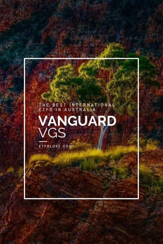 VGS:ASX from Vanguard Australia is the best International ETF available on the ASX