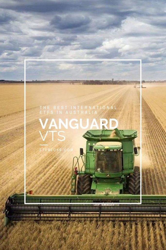 VTS from Vanguard is a great international ETF available in Australia.